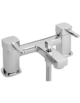 Axis Deck Mounted Bath Shower Mixer Tap And Kit