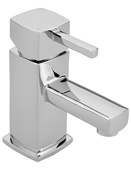 Axis Monobloc Basin Mixer Tap With Sprung Waste