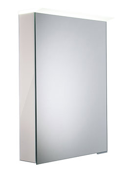 Virtue Gloss Mist LED Mirror Cabinet - VR50ALGMS