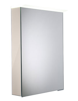 Virtue Gloss Calico LED Mirror Cabinet - VR50ALGCA