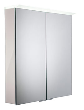 Roper Rhodes Visage Gloss Mist LED Mirror Cabinet - VS65ALGMS