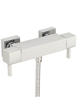 Axis Exposed Thermostatic Bar Shower Valve