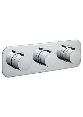 Tablet Altitude Horizontal 3 Outlet Concealed Thermostatic Valve