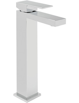 Blade Extended Monobloc Basin Mixer Tap With Sprung Waste