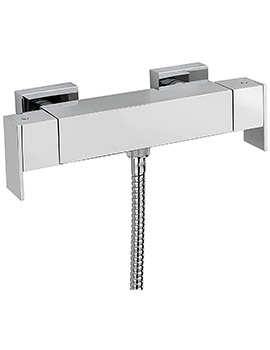 Blade Exposed Thermostatic Bar Shower Valve