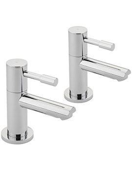 Boston Pair Of Basin Taps