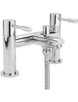 Boston Deck Mounted Bath Shower Mixer Tap With No.1 Kit