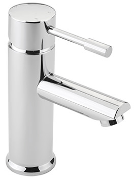 Boston Monobloc Basin Mixer Tap With Sprung Waste