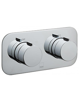 Tablet Altitude Horizontal 2 Outlet Concealed Thermostatic Valve