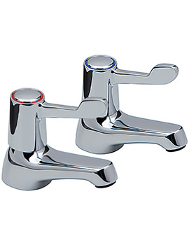 Contract Lever Pair Of Basin Taps