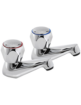 Contract Pair Of Bath Taps