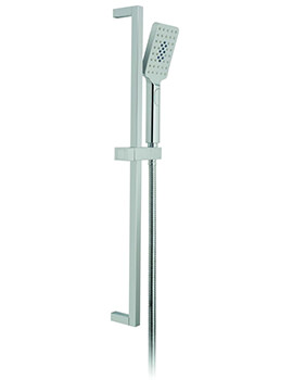 Vado Nebula Square Multi-Function Slide Rail Shower Kit