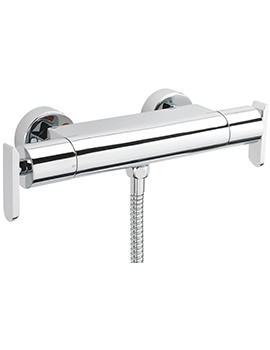 Eclipse Exposed Thermostatic Bar Shower Valve