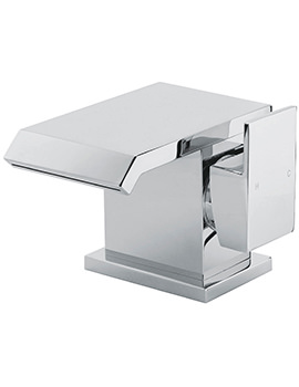 Dakota Monobloc Basin Mixer Tap With Sprung Waste