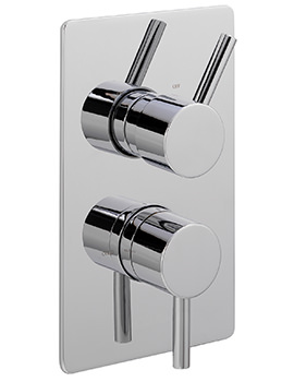 Ergo Concealed Thermostatic Shower Valve