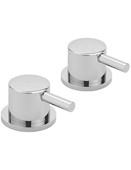Ergo Pair Of 0.5 Inch Deck Mounted Side Valves