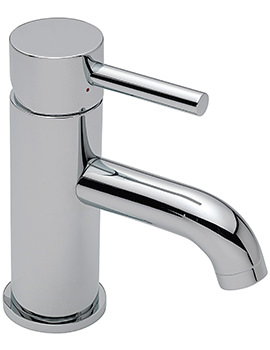 Ergo Monobloc Basin Mixer Tap With Sprung Waste