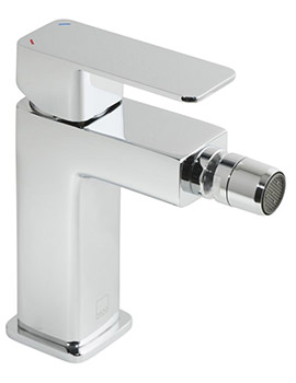 Vado Phase Mono Bidet Mixer Tap With Pop-Up Waste