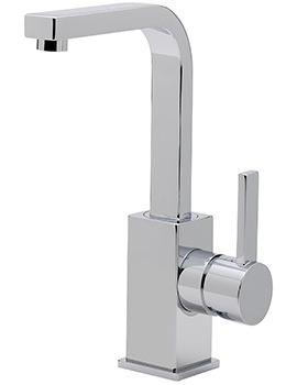 Evolution Swivel Spout Monobloc Basin Mixer Tap With Waste