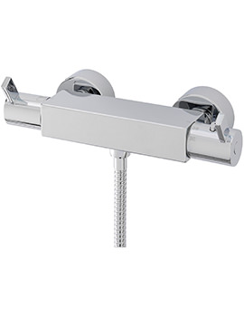 Evolution Exposed Thermostatic Bar Shower Valve