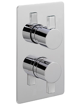 Evolution Concealed Thermostatic Shower Valve With 2 Way Diverter