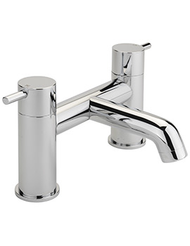 Ergo Deck Mounted Bath Filler Tap