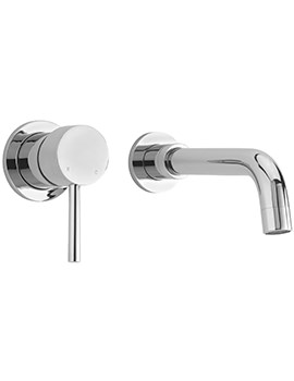 Ergo 2 Hole Wall Mounted Basin Mixer Tap