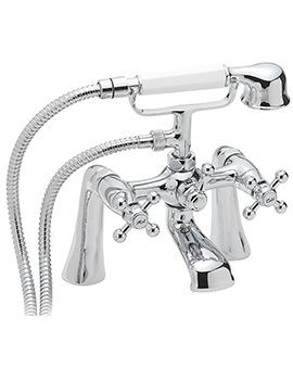 Fantasy Deck Mounted Bath Shower Mixer Tap With No.1 Kit