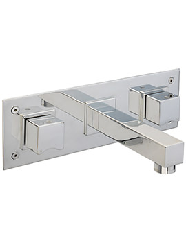Matisse Wall Mounted Bath Filler Mixer Tap