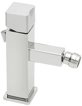 Matisse Monobloc Bidet Mixer Tap With Pop-Up Rod Waste