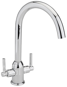Kinetic Chrome Monobloc Kitchen Sink Mixer Tap