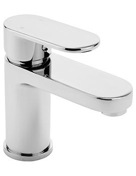 Metro Monobloc Basin Mixer Tap With Sprung Waste