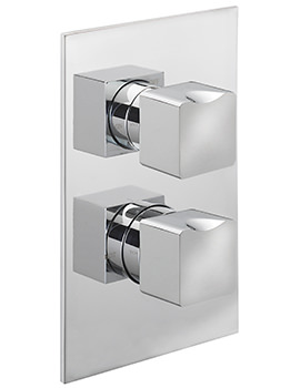 Matisse Concealed Thermostatic Shower Valve With 2 Way Diverter