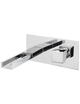 Matisse Cascade Wall Mounted Basin Mixer Tap