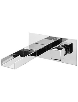 Matisse Cascade Wall Mounted Bath Filler Mixer Tap