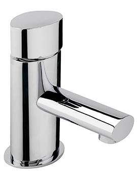 Oveta Monobloc Basin Mixer Tap With Sprung Waste