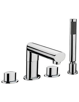 Oveta 4 Hole Deck Mounted Bath Shower Mixer Tap