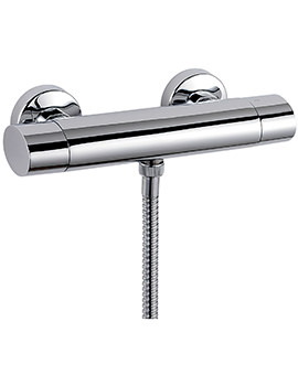 Oveta Exposed Thermostatic Bar Shower Valve