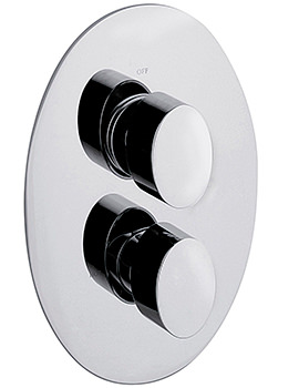 Oveta Concealed Thermostatic Shower Valve With 2 Way Diverter