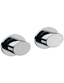 Oveta Pair Of 0.5 Inch Wall Mounted Side Valves