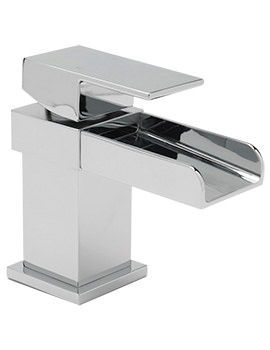 Nice Cloakroom Monobloc Basin Mixer Tap With Sprung Waste