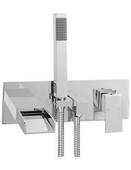 Nice Wall Mounted Bath Shower Mixer Tap