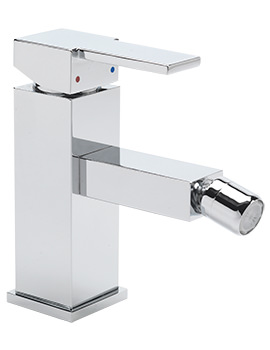 Navona Monobloc Bidet Mixer Tap With Pop-Up Rod Waste