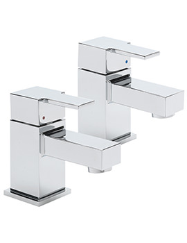 Navona Pair Of Bath Taps