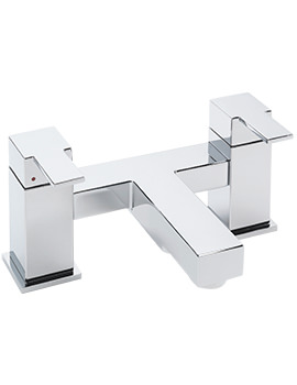Navona Deck Mounted Bath Filler Tap