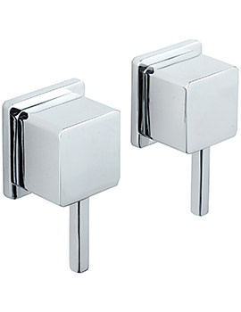 Pablo Pair Of 0.5 Inch Wall Mounted Side Valves