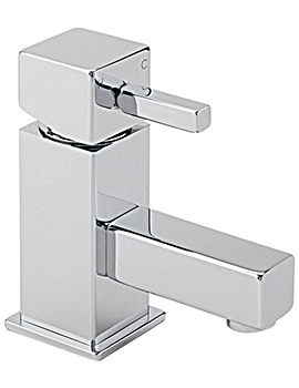 Pablo Cloakroom Basin Mixer Tap With Sprung Waste