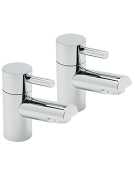 Piazza Pair Of Bath Taps