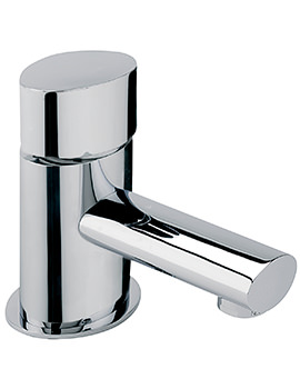 Oveta Cloakroom Basin Mixer Tap With Sprung Waste