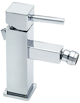 Pablo Monobloc Bidet Mixer Tap With Pop-Up Rod Waste
